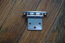 "1 3/4"" X 1 1/2"" GEM LUX HINGE HINGES STAINLESS STEEL new"