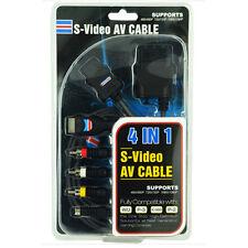 Av cable de alta calidad de vídeo S Para Wii, PS2, PS3, X-360, Laptop