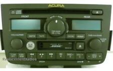 Acura MDX 2001-2004 CD Cassette DVD BOSE stereo. OEM factory original A500 radio