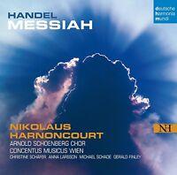 NIKOLAUS HARNONCOURT - MESSIAH 3 CD NEUF HÄNDEL,GEORG FRIEDRICH