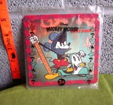 MICKEY MOUSE on Moped throwback puzzle NWT as Don Quixote spoof