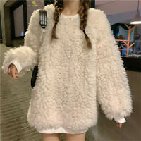 Womens Real Genuine Knitted Mink Fur Pullover Coat Jacket Outwear Short Tops