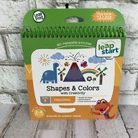 Leap Start Preschool Shapes & Colors Activity Book Creativity Teaching Level 1