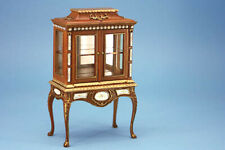 1/12 scale Dolls House furniture  Hazelnut Display cabinet 8103-01