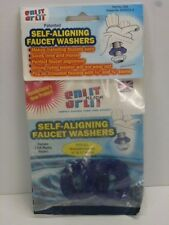 """SPLIT KLICK SELF-ALIGNING FAUCET WASHERS, fits 1/2"""" & 3/4"""" THREADED STEMS, #090"""