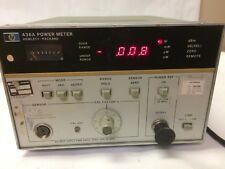 Hp 436A Power Meter Rf Hewlett Packard Opt 22