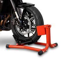 Motorradwippe Radklemme Motorrad Ständer Frontwippe Parkständer Frontständer rot