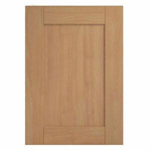 Kitchen Cabinet Unit Doors Drawers SOLID WOOD SHAKER NATURAL OAK (93mm FRAME)