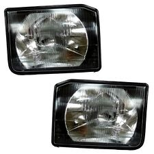 LAND ROVER DISCOVERY 2 NEW FRONT HEADLIGHTS, LAMPS (PAIR) XBC105120 & XBC105130