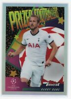 2020 HARRY KANE TOPPS FINEST UEFA CHAMPIONS LEAGUE PRIZED FOOTBALLERS REFRACTOR