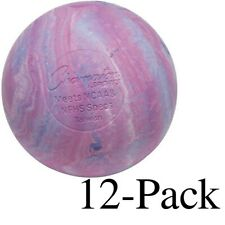 Champion Sports Official Size Rubber Lacrosse Ball, Multi-Colored (Pack of 12)