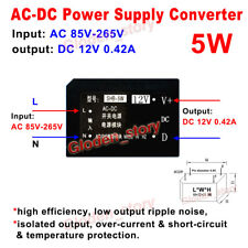 AC-DC Power Voltage Converter Switching Transformer AC 110V 220V 230V to DC 12V