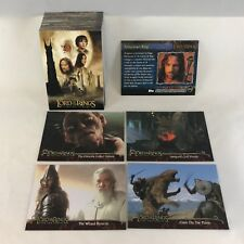 LORD OF THE RINGS: THE TWO TOWERS COLLECTORS EDITION UPDATE Card Set (#91-#162)