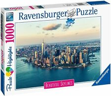 PUZZLE NEW YORK PANORAMA CITTA' BEAUTIFUL SKYLINES 1000 PEZZI RAVENSBURGER