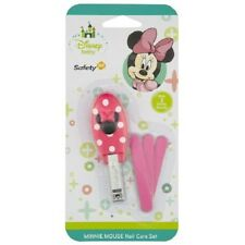 Safety 1st Disney Baby Minnie Mouse Nail Care Set Infant Clippers for Baby Girls