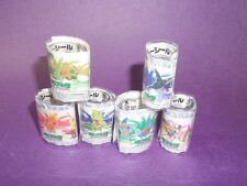ot S4 Tomy Pokemon Figure Tattoo sticker Set B (6 Pieces)