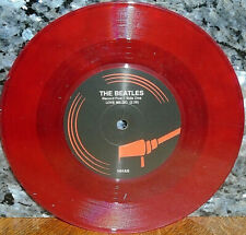 """*<* 2000 PRESSED! UNPLAYED MINT BEATLES UK-ONLY RED VINYL """"LOVE ME DO"""" RARE 45!!"""