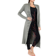 Womens Cheap Long Duster Coat Open Front Viscose Cardigan Jacket Modest Cover Up
