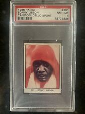 1966 Panini Sonny Liston Rookie RC PSA 8 NM-MT