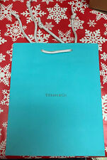 Tiffany & Co. Paper Shopping Gift Bag - Authentic - Empty - 10x8x4