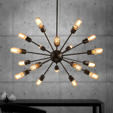 Sputnik Ceiling Light Fixture Atomic Starburst Modern Industrial Mid Century New