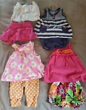 0-3 Month Baby Girl Summer Clothes Lot