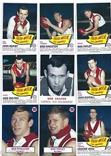 1966 Scanlens Archives SOUTH MELBOURNE Master Set (13 Cards) ****