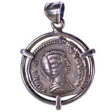 Silver Pendant Julia, Denarius, Roma,  Silver Denarius (211-217 AD)