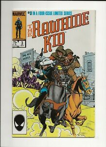 RAWHIDE KID #3 1985 MARVEL WESTERN COMIC VF/NM