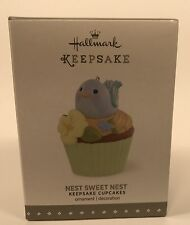 Hallmark Keepsake Ornament Nest Sweet Nest 10th In The Cupcake Monthly Series