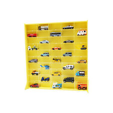 [NEW]50 Mini Car(Tommy Car) Display Case for collection with Sliding Door_Yellow