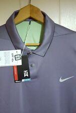 Tiger Woods Nike Golf Polo Shirt: 2XL (NWT) Gun Metal Grey