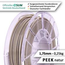 eSun Filament, PEEK Pro, 1.75mm, 0,25kg, natur, Topqualität