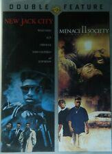2 Urban Classics New Jack City Wesley Snipes Menace Ii Society Director's Cut