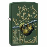 Zippo Pangolin Design Green Matte Lighter, 221-084672