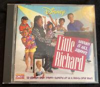 Disney's Little Richard Shake it all About-1992 CD
