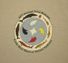 LITTLE RIVER BAND OTTAWA INDIANS tee XL Lake Sturgeon T shirt NME Release 2013