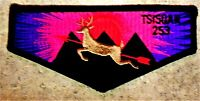 TSISQUAN OA LODGE 253 OREGON TRAIL AREA COUNCIL OR BOY SCOUT PATCH SERVICE FLAP