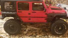 RC jeep wrangler fender armor / fender flares axial CRC