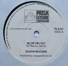 """SUSAN MCCANN-velours bleu-Excellent état 7"""" Single Prism PLA 07"""