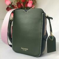 NWT $298 Kate Spade Medium Candid ColorBlock Smooth Leather Camera CrossBody