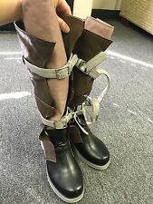 Fantasy XIII Lightning Shoes Cosplay Boots 6Y 24CM