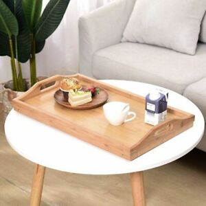 Laptop Bed Desk Breakfast Portable Tray Table Foldable Folding Serving Stand Lap