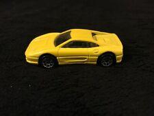Hot Wheels, 1995 Yellow Ferrari 355