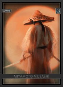 Arata Digital Miyamoto Musashi Ronin Samurai - Digital NFT Card - Mint #730 RARE
