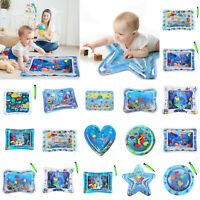 Baby Inflatable Water Play Mat Patted Pad Cushion Tummy Time Playmats Kids Toy