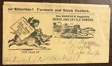 HORSE & CATTLE POWDER -HAND DELIVERED? Stover's Mills PENNSYLVANIA - Pipersville