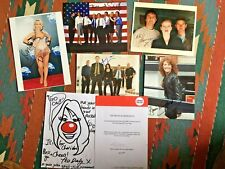 signed autograph collection of celebrity stars joblot clearout tv photos 8x10