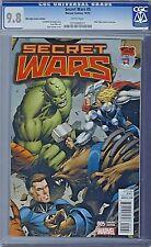 SECRET WARS (2015) # 5 Mile High Comics Variant Cover CGC 9.8