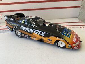 XRARE 1:24 John Force CASTROL GTX / ELVIS 1998 MUSTANG NHRA DieCast Funny Car